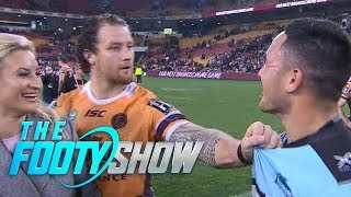 Korbin Sims Shows Holmes Who's Boss | NRL Footy Show 2018