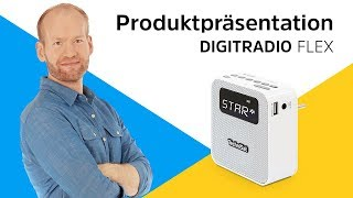 DAB+/UKW-Steckdosenradio mit kompakten Abmessungen. | DIGITRADIO FLEX | TechniSat