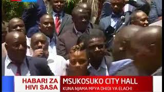 Vurugu yazuka City Hall, madiwani wakitaka kumtimua tena Spika Elachi