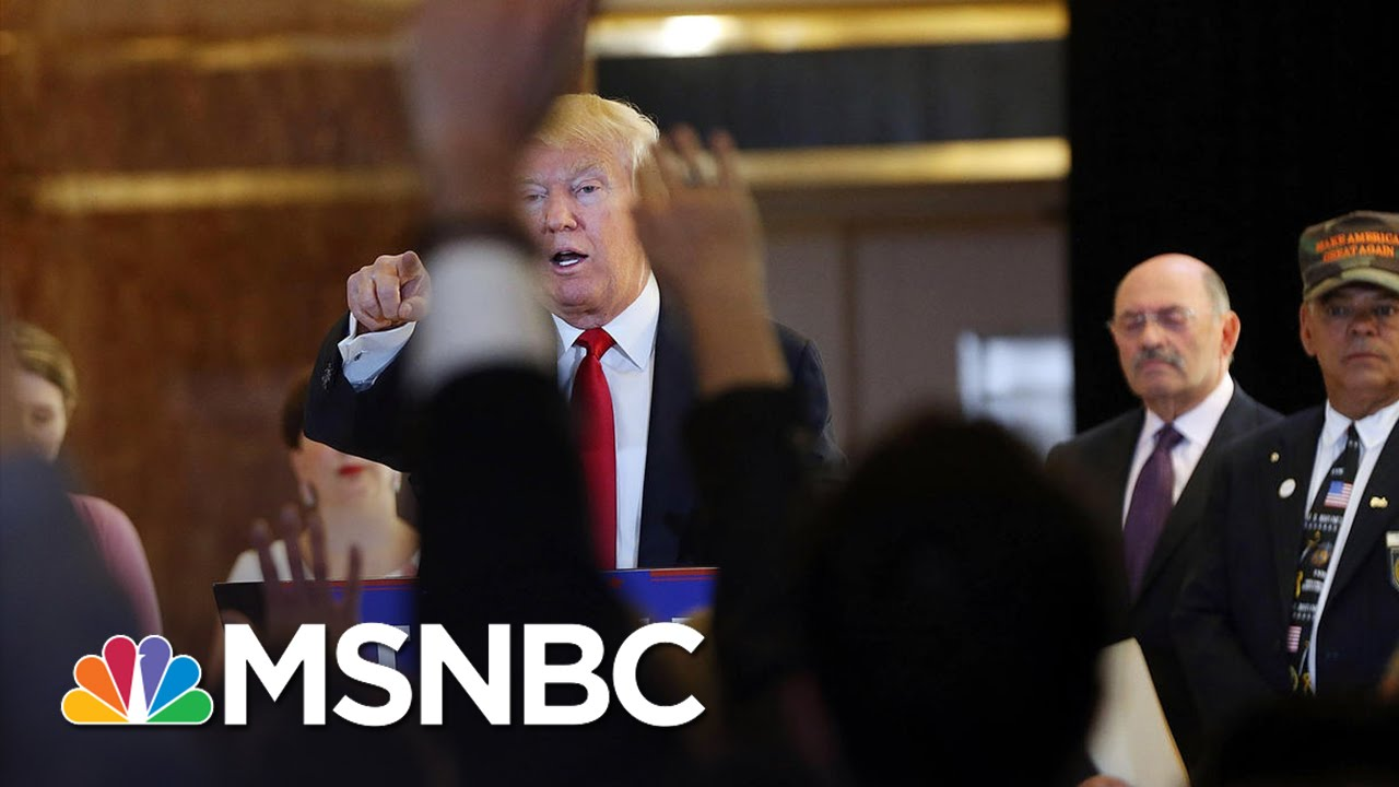 Republican Gov. Association To Donald Trump: Time For Slash And Burn Over   Andrea Mitchell   MSNBC thumbnail