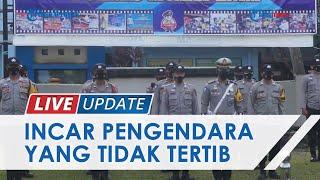 Wujudkan Kamsel Tibcarlantas dan Taat Prokes, Polres Muara Enim Gelar Operasi Patuh Musi 2021