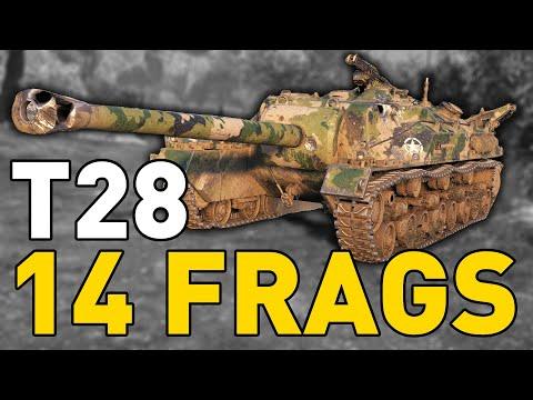 World of Tanks - T28 - 14 FRAGS