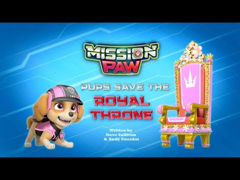 Щенячий патруль | 4 сезон 10 серия | Миссия след:Щенки спасают царский трон