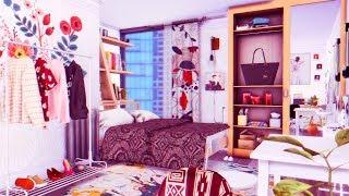The Sims 4: Строительство   Квартира для матери-одиночки