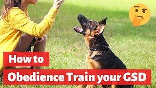 German Shepherd Obedience Training: A Complete Guide on GSD Training