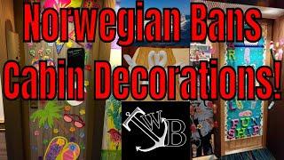 Norwegian Bans Cabin Door Decorations Crafters Go Crazy!