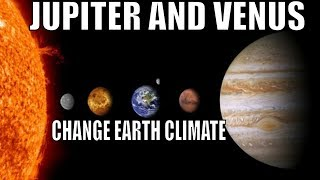 We Discovered That Jupiter and Venus Influence Earth's Climate