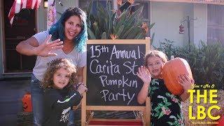 You, Me, & the LBC | Community Street Pumpkin Carving