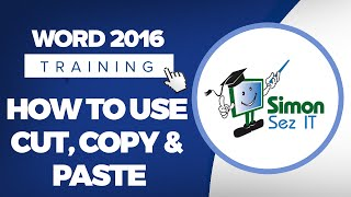 How to Use Cut, Copy and Paste in Microsoft Word 2016
