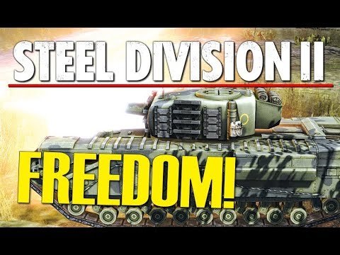 FREEDOM! Steel Division 2 Conquest Gameplay (Beshankovichy, 2v2)