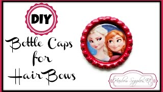 DIY Bottle Caps For Hair Bows - Hair Bow Center -  Hairbow Supplies, Etc.