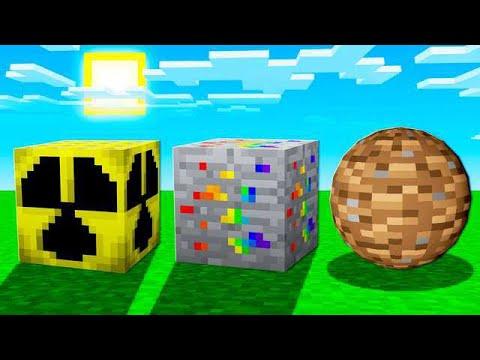 COLLECTING 8 SECRET MINECRAFT BLOCKS! - UnspeakablePlays