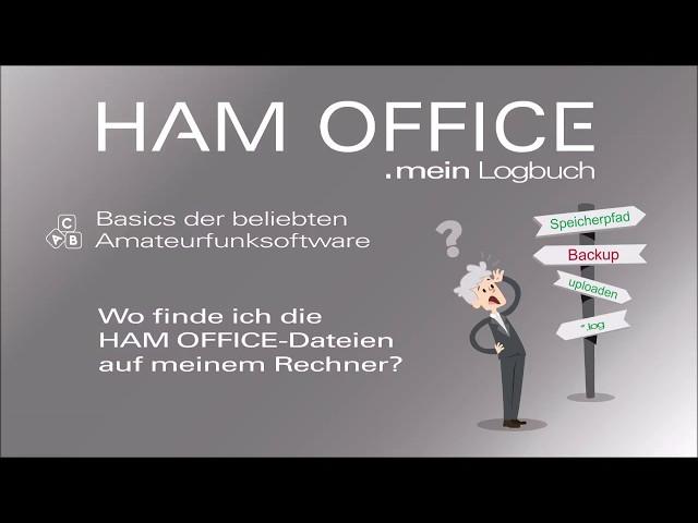 Youtube-Startbild zu HAM OFFICE Basics: Wo auf meinem Rechner finde ich die Programm- und Daten-Dateien des Programms