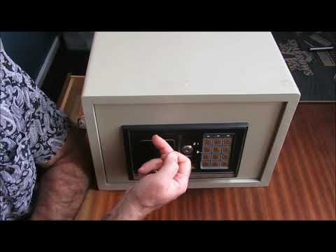 [115] Tutorial – Noble Electronic Digital Safe with comedy wafer lock