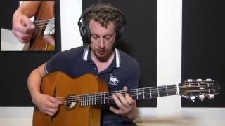 Adrien Moignard - Les Yeux Noirs ( Improvisation Etude ) Gypsy Jazz