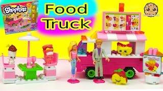 Barbie & Ken Order From Shopkins Food Fair Truck Kinstructions Building Set