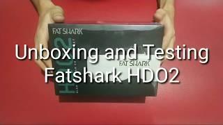 Unboxing Fatshark HDO2 Goggles
