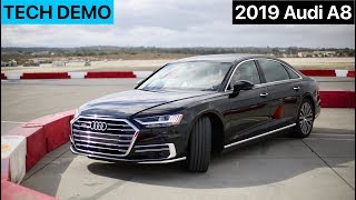 2019 Audi A8 Active Safety Feature Demo