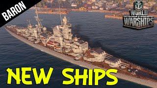 NEW Russian & German Cruisers!  World of Warships New Ships
