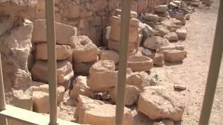 Tour of The Palace of Herod the Great, Masada, Judaean Desert, Israel