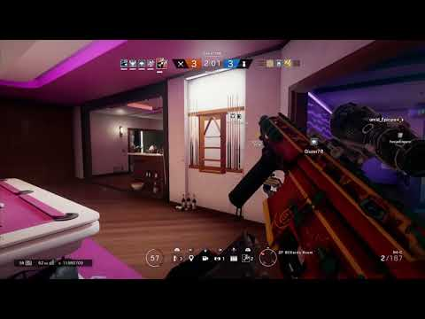 Rainbow 6 Siege- The Ash Ace And Clutches
