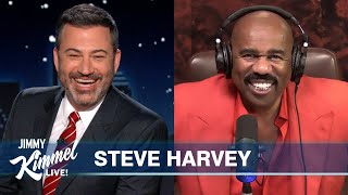 Steve Harvey on Michael B. Jordan Dating His Daughter, Working from Home & His Wife's Birthday