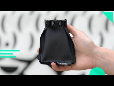 Matador FlatPak Soap Bar Case Review | Small Bag/Holder For Your Travel Toiletry Dopp Kit