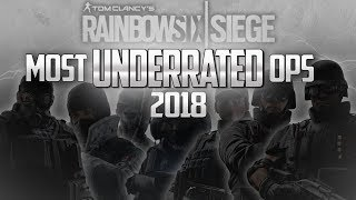 Six Of The Most Underrated Operators in Siege