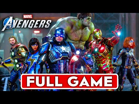 MARVEL'S AVENGERS Gameplay Walkthrough Part 1 FULL GAME [1080P HD PS4 PRO] - No Commentary