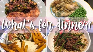 EASY DINNER IDEAS // WHAT'S FOR DINNER WEDNESDAY!