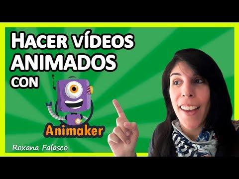 Cómo hacer VÍDEOS Animados con ANIMAKER 💥