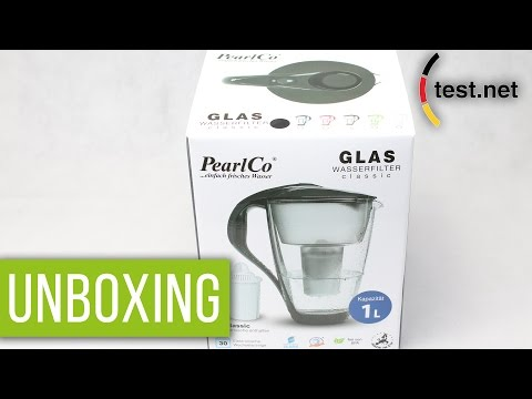 PearlCo | Wasserfilter Astra in anthrazit (Unboxing) | test.net
