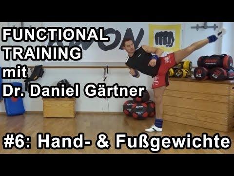 Functional Training - #6 - Intensiver trainieren mit Arm- & Fußgewichten