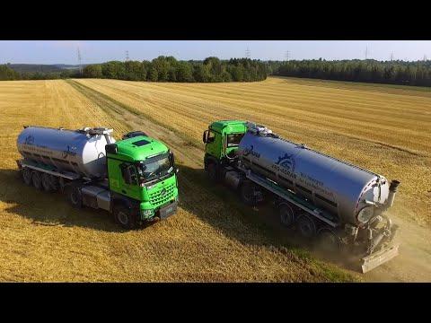 VBG-Agrar | Heizotruck im Doppelpack | Vervaet Hydro Trike | Gülleausbringung 2018