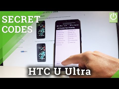 HTC U Ultra CODES / Secret Menu / Hidden Feature / Tricks