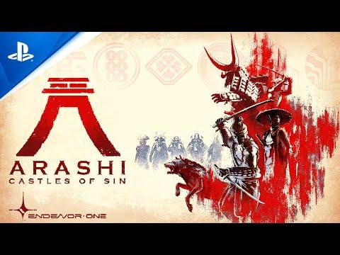 Arashi: Castles of Sin - Announce Trailer PS VR de