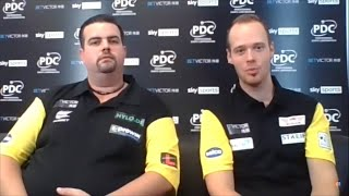 """Max Hopp and Gabriel Clemens of Team Germany: """"It's about time we broke the Quarter-Final curse"""""""
