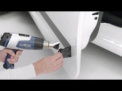 Aufkleber entfernen mit Heißluftfön | STEINEL DIY