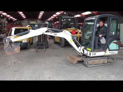 Video: Bobcat E16 Minigraver 1