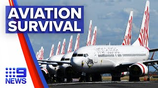 Coronavirus: Australia aviation industry struggles to survive | 9 News Australia