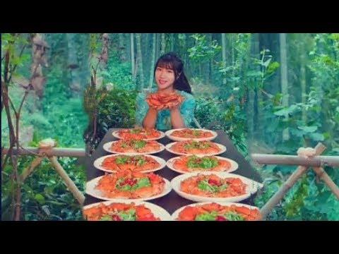 #大胃王 全村第一吃貨,消滅三十斤香辣蟹