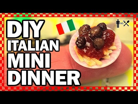 DIY MINI DINNER – Man Vs Din