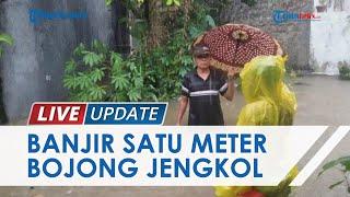 Sungai Meluap seusai Hujan Deras, Kampung Bojong Jengkol Bogor Terendam Banjir Setinggi Lutut