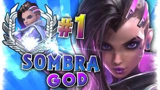 "[Best #1 World SOMBRA Player] Moments Montage    Sombra God Player ""Codey""  Overwatch Gods"