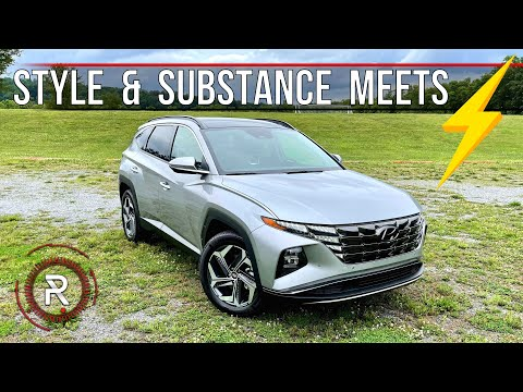 The 2022 Hyundai Tucson Hybrid Stands Out In A Crowded SUV Segment