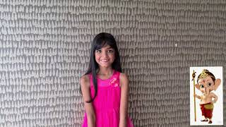 O my friend Ganesha cover by 8 year old singer and her 4