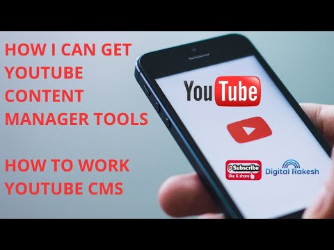 How I can get YouTube Content Manager tools