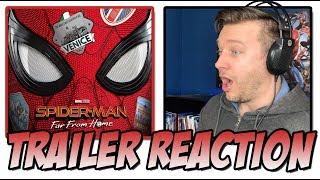 Spider-Man Far From Home Teaser Trailer Reaction