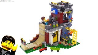 LEGO Creator 3-in-1 Modular Skate House review! 31081