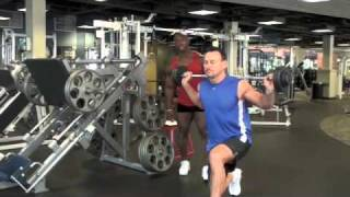 Calgary Personal Training Videos: Walking Lunges